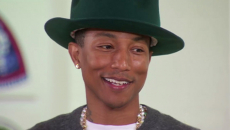 Pharrell Williams: 'Women could save the world!'
