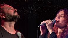 Ο Νικόλας Αδέσποτος και η Χριστίνα Γκόλια  στη μουσική σκηνή Σφίγγα 5 & 12/2