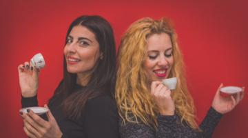 Η Ζαχαρούλα Κληματσάκη και η Ιωάννα Κωτσαρέλη @ Σφίγγα 2/2