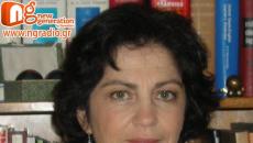 Η Ελένη Λαζαράτου δίνει συνέντευξη στον NGradio