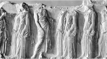 Ελληνικές αρχαιότητες στο Μουσείο του Λούβρο (Β')