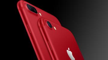 Η Apple λανσάρει το πρώτο κόκκινο iPhone