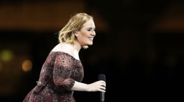 Watch Adele's Impression of Beyoncé, Complete With a Wind Machine