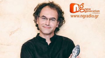 Ο Σωκράτης Σινόπουλος δίνει συνέντευξη στον NGradio