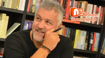 Ο Σπύρος Πετρουλάκης δίνει συνέντευξη στον NGradio