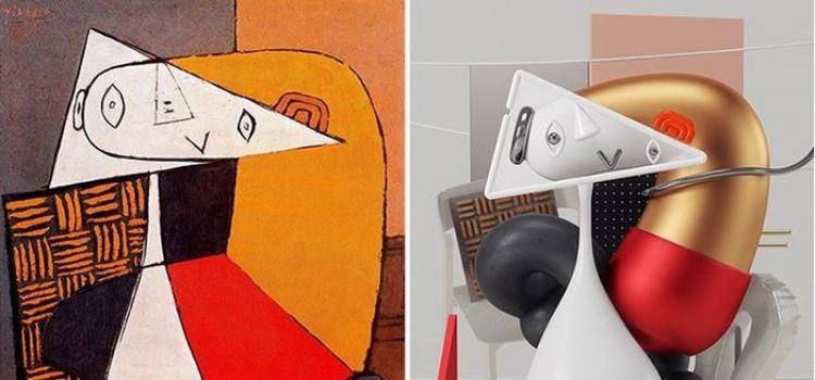 Σχεδιαστής αναπαριστά τους πίνακες του Πικάσο σε 3D