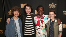Stranger Things Make New Famous Friends at the 2017 MTV Movie & TV Awards