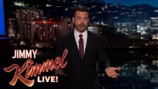 Jimmy Kimmel emotionally recounts a medical emergency involving his newborn son