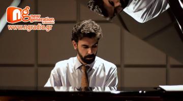 Ο Μάνος Σαριδάκης δίνει συνέντευξη στον NGradio