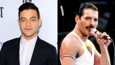 Δείτε βίντεο και φωτογραφίες του Rami Malek ως Freddie Mercury