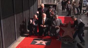 Ο Νικ Νόλτε (Nick Nolte) με δικό του αστέρι στη Λεωφόρο της Δόξας
