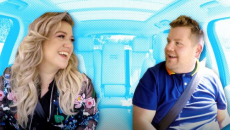 Kelly Clarkson's Carpool Karaoke turns into date night with her husband