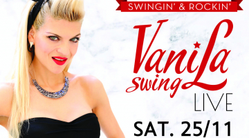 Οι Vanila Swing live PARTY @ Scherzo | Σάββατο 22/11
