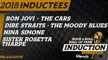 Οι καλλιτέχνες που μπαίνουν στο  Rock n Roll Hall Of Fame για το 2018 ανακοινώθηκαν!