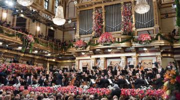 Όλα έτοιμα για την Πρωτοχρονιάτικη Συναυλία της Φιλαρμονικής της Βιέννης