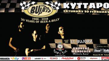 THE BULLETS Live – Η μεγάλη γιορτή για τα 30 χρόνια της μεγαλύτερης ελληνικής rock 'n' roll μπάντας 10.2.2018 @ Κύτταρο