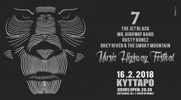 Το 7ο Music Highway Festival είναι γεγονός @ Κύτταρο | 16.2.2018