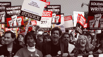 10 Years Ago, Screenwriters Went On Strike And Changed Television Forever