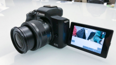 Canon's newest mirrorless camera shoots 4K video