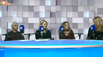 Η Λίνα Ρόκου ο Νίκος Κοντογιώργης και η Αριστέα δίνουν συνέντευξη στον NGradio