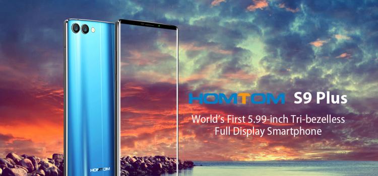 Homtom S9 PLus – Ένα low budget bezel less κινητό