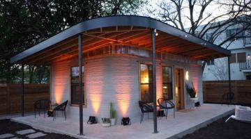 Τρισδιάστατα εκτυπωμένο σπίτι θέλει να δώσει στέγη σε όσους δεν έχουν