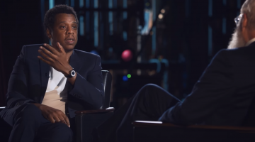 Jay-Z breaks down what makes a good rapper on David Letterman's 'My Next Guest'