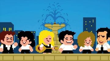 Πως θα ήταν «Τα φιλαράκια» ως retro videogame;