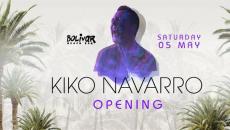 Kiko Navarro @ Bolivar Beach Bar – Opening Party