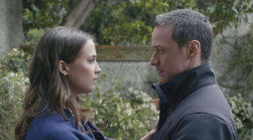 James McAvoy and Alicia Vikander form a deep connection in Submergence clip