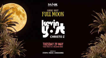Kevin Yost – Candle Night – Full Moon Party @ Bolivar Beach Bar | 29 May