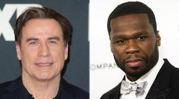 Ο Τζον Τραβόλτα (John Travolta) χορεύει με τον 50 Cent στις Κάννες σε ένα ρεσιτάλ που έγραψε ιστορία