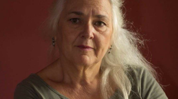 Η Γεωργία Δεληγιαννοπούλου δίνει συνέντευξη στην 'Εφη Μαχιμάρη