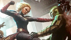 Captain Marvel can move planets according to Brie Larson