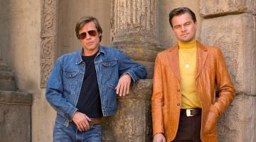 Λεονάρντο Ντι Κάπριο & Μπραντ Πιτ στην πρώτη φωτογραφία απ' τα γυρίσματα του «Once Upon a Time in Hollywood»