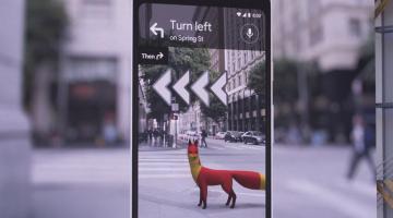 Google: Διευρυμένης πραγματικότητας «αλεπού» μας οδηγεί στους χάρτες