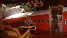 Ξενοδοχεία μέσα σε αεροπλάνα και ελικόπτερα!