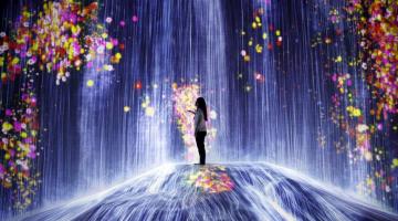 Το πρώτο εξ ολοκλήρου ψηφιακό, ψυχεδελικό μουσείο τέχνης άνοιξε στο Τόκιο