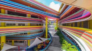 Ένα πανέμορφο σχολείο λύση ενάντια στις κοπάνες