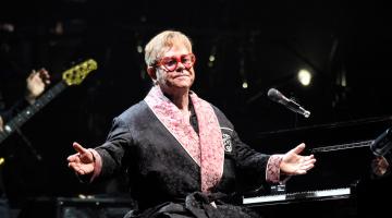 Elton John Dazzles at Farewell Tour Launch
