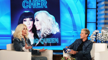 Ellen DeGeneres Trolls Cher With Cheesy Impersonation of 'If I Could Turn Back Time'