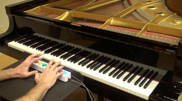 Google's Piano Genie lets anyone improvise classical music