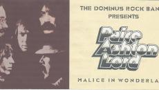 "Tο θρυλικό ""Malice In Wonderland"" των Paice, Ashton & Lord παρουσιάζουν οι Dominus Rock Band"