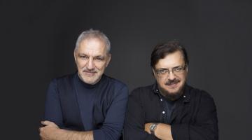 Λαυρέντης Μαχαιρίτσαςb & Νίκος Πορτοκάλογλου στο ΓΥΑΛΙΝΟ | Κάθε ΠΑΡΑΣΚΕΥΗ και ΣΑΒΒΑΤΟ από 30 Νοεμβρίου