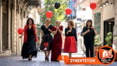 """Η Φιλίππα Σκούρτη και η Αλεξία Στολιδάκη από την θεατρική ομάδα """"Αντιστροφή"""" στον NGradio.gr"""