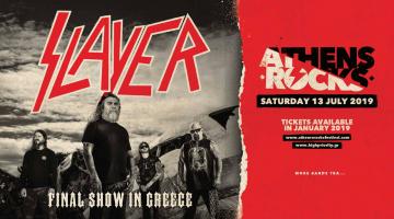 Το AthensRocks έρχεται στην καρδιά της Αθήνας ! Slayer live @ Γήπεδο Λεωφόρου Αλεξάνδρας «Απόστολος Νικολαΐδης»