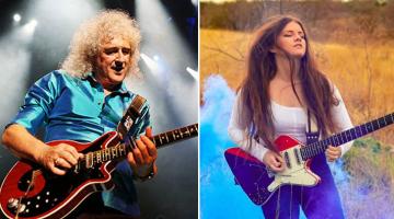 Queen's Brian May praises new generation female guitarist