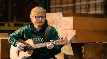 Ed Sheeran Announces Signature Handmade Acoustic Guitar Brand