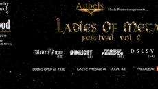 LADIES OF METAL FESTIVAL VOL. 2   HOLYWOOD STAGE Σάββατο 30/3
