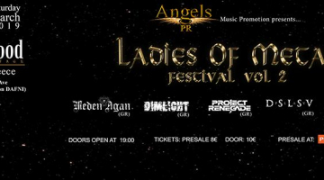 LADIES OF METAL FESTIVAL VOL. 2 | HOLYWOOD STAGE Σάββατο 30/3